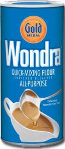 wondra flour package